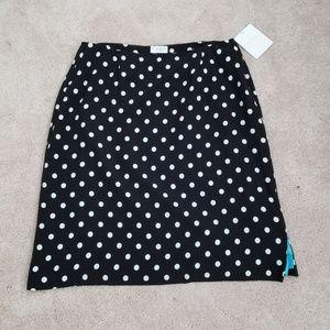 NWT Polka Dot Women's Skirt